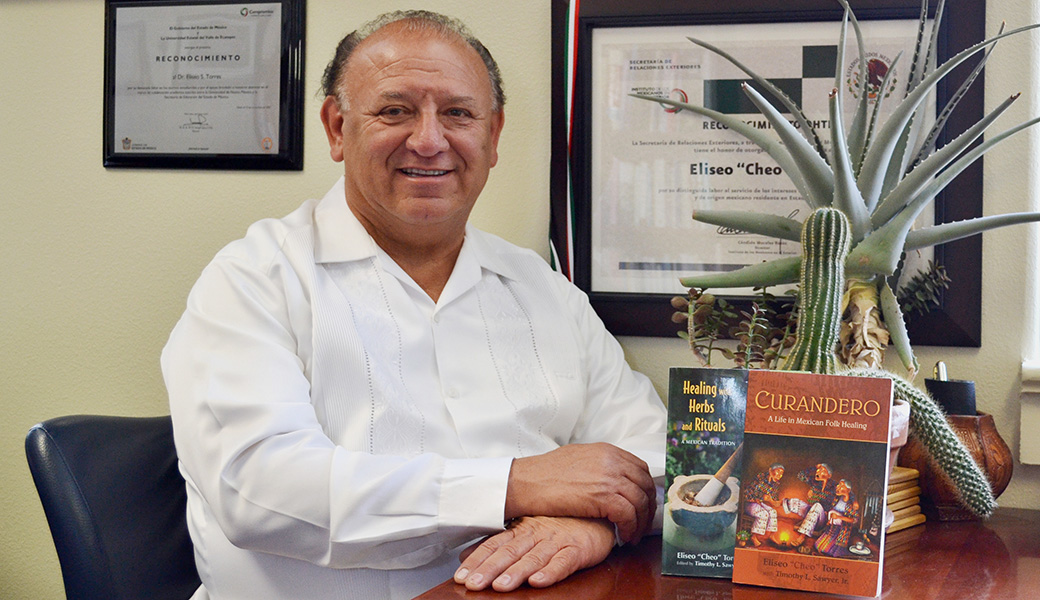 "Eliseo ""Cheo"" Torres, Vice President of Student Affairs at the University of New Mexico, has made it his life's work to promote the traditions of Curanderismo, an ancient healing tradition."